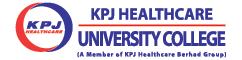 KPJ Healthcare University College Logo